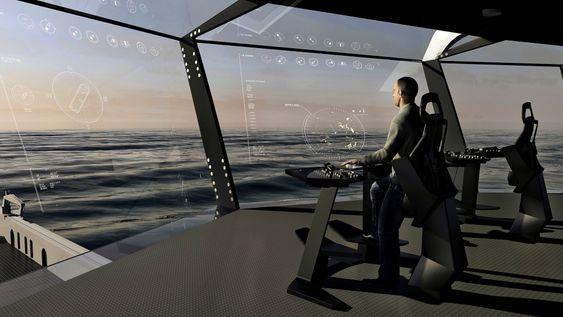 Skipbrokonseptet Bridge Vision setter operatøren i førersetet, bokstavelig talt.