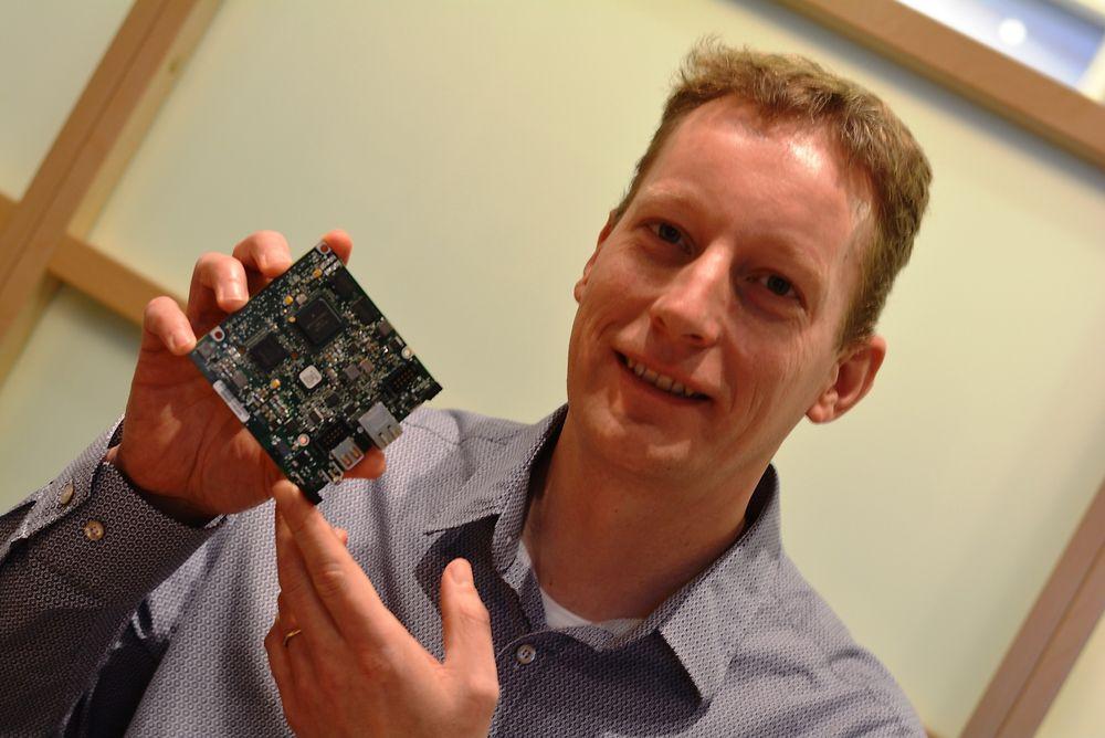 Erik van Hilten presenterer trender for Embedded Solutions.