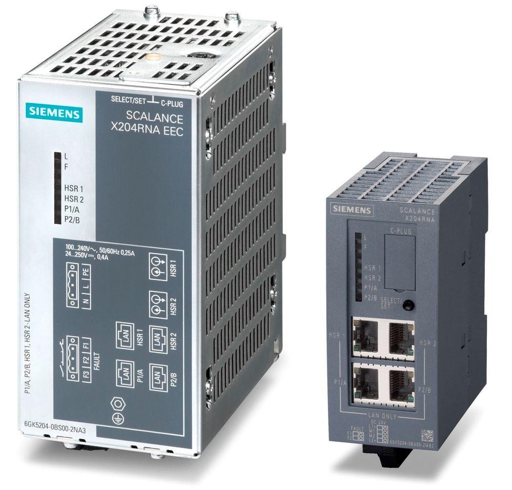 Switch som stiller med redundansprotokoller som HSR og PRP.