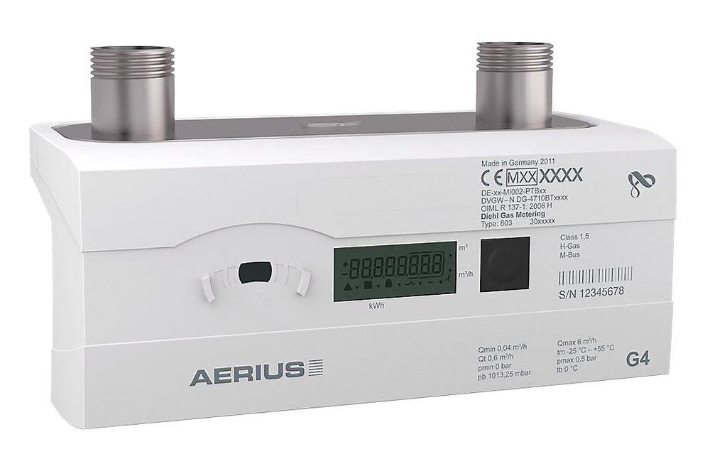 Kompakt gassmåler som er godkjent for kjøp og salg av MID.