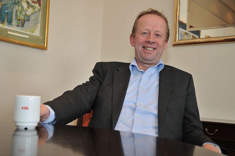 Administrerende direktør Steffen Waal forteller at olje- og gassvirksomheten er sentral i fjorårets rekordomsetning på ni milliarder kroner (arkivfoto).