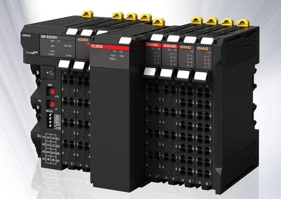 Omrons nye sikkerhetskontrollere, NX, utvider maskinstyringsplattformen Sysmac, og kan integreres med maskinkontrollere og konfigureres med samme verktøy.