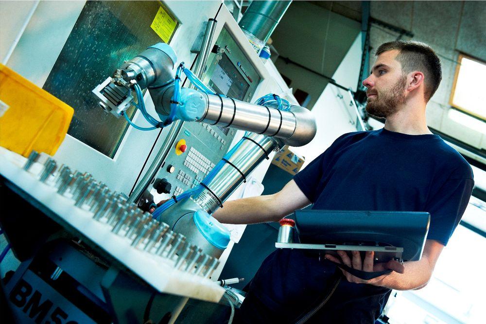 Danske Universal Robots er populære i USA.