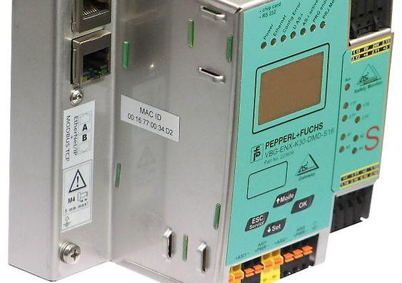 Eksempel på gateway mellom AS-Interface og industrielt Ethernet (Ill. Pepperl+Fuchs).