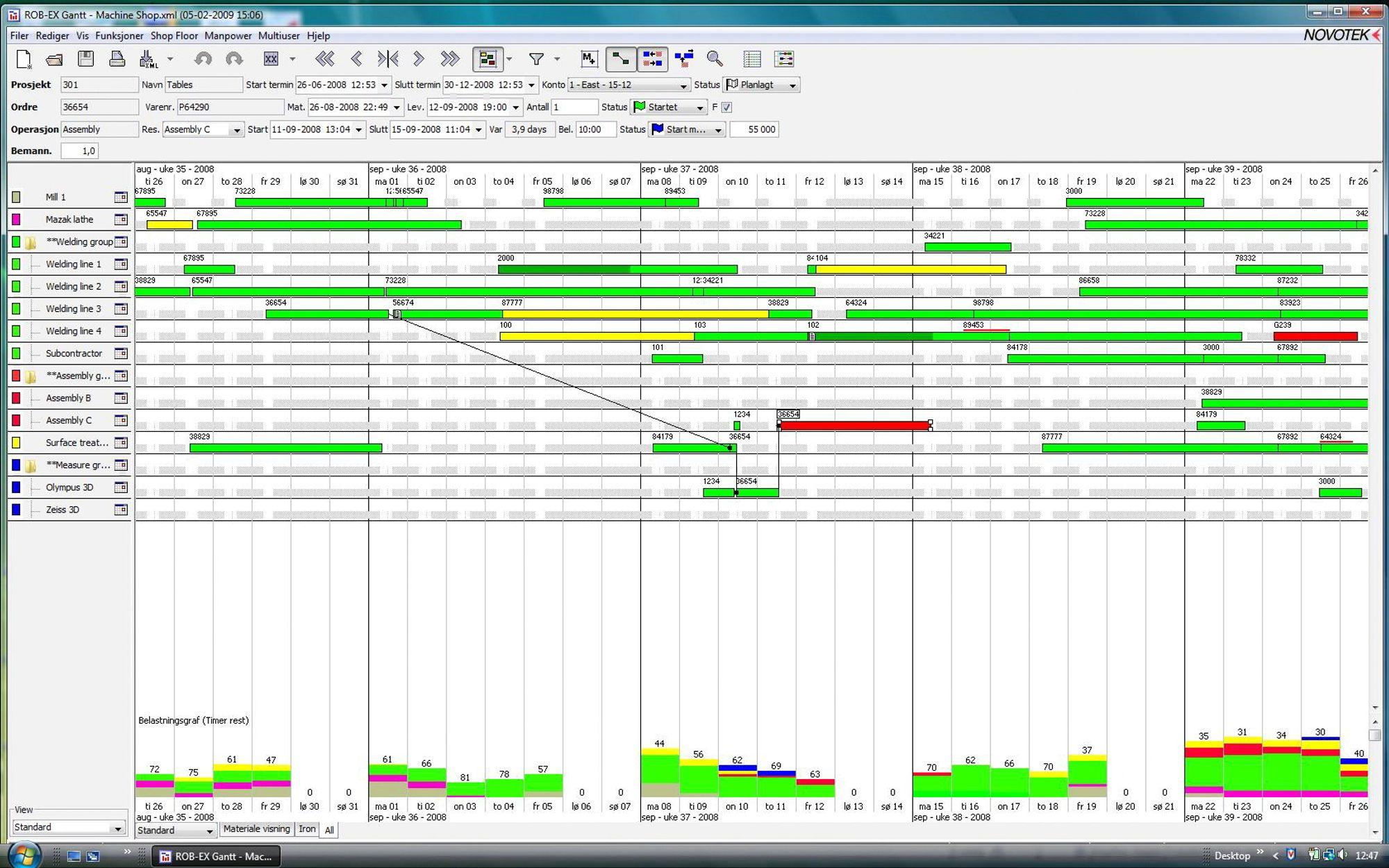Fabelaktig finplanlegging tu eksempel p skjermbilde i finplanleggingssystemet rob ex ccuart Images
