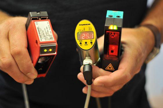 Eksempel på sensorer som deltar i testen.