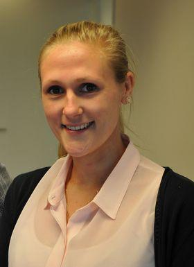 Veronika Østerdahl er ny salgs- og markedsassistent.