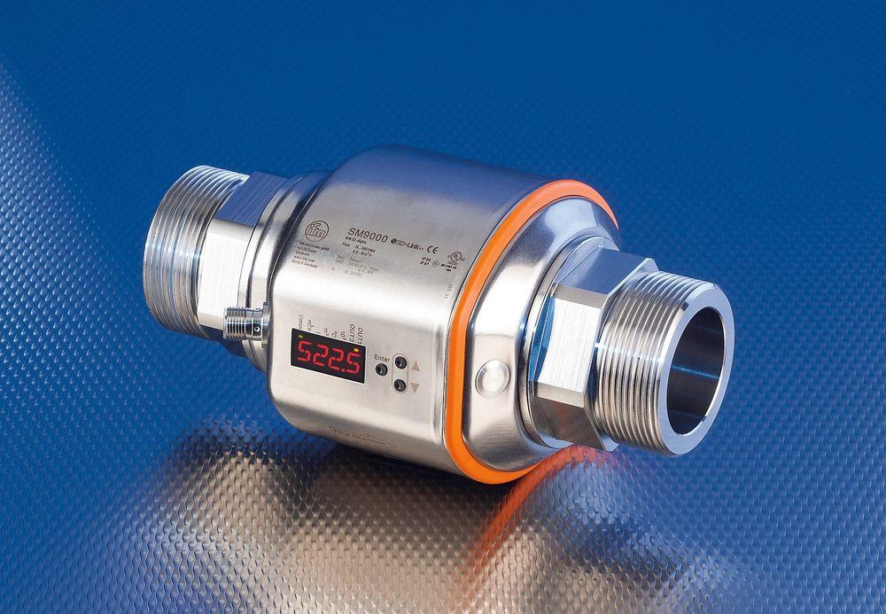 Magnetisk mengdemåler med flere utgangssignaler og overvåking av tomt rør.