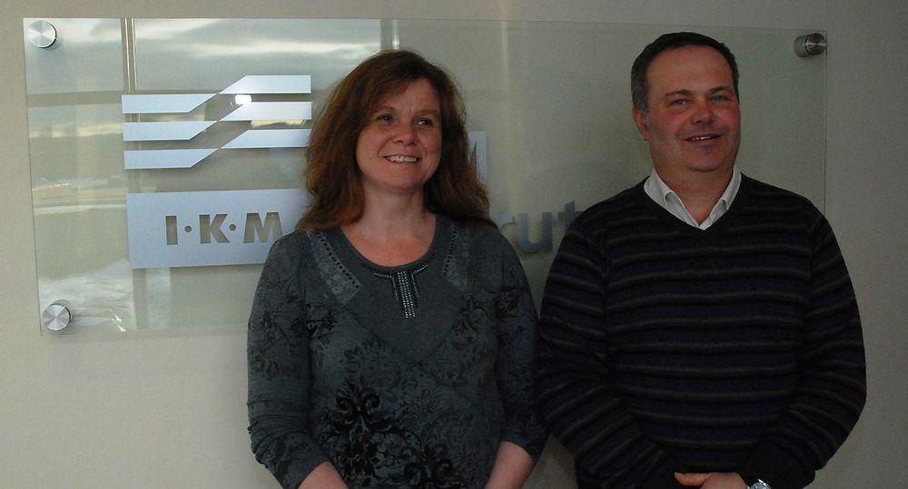 Bjørn Fredrik Ilestad og Bente Sletholt er nye salgsingeniører hos IKM Iinstrutek.