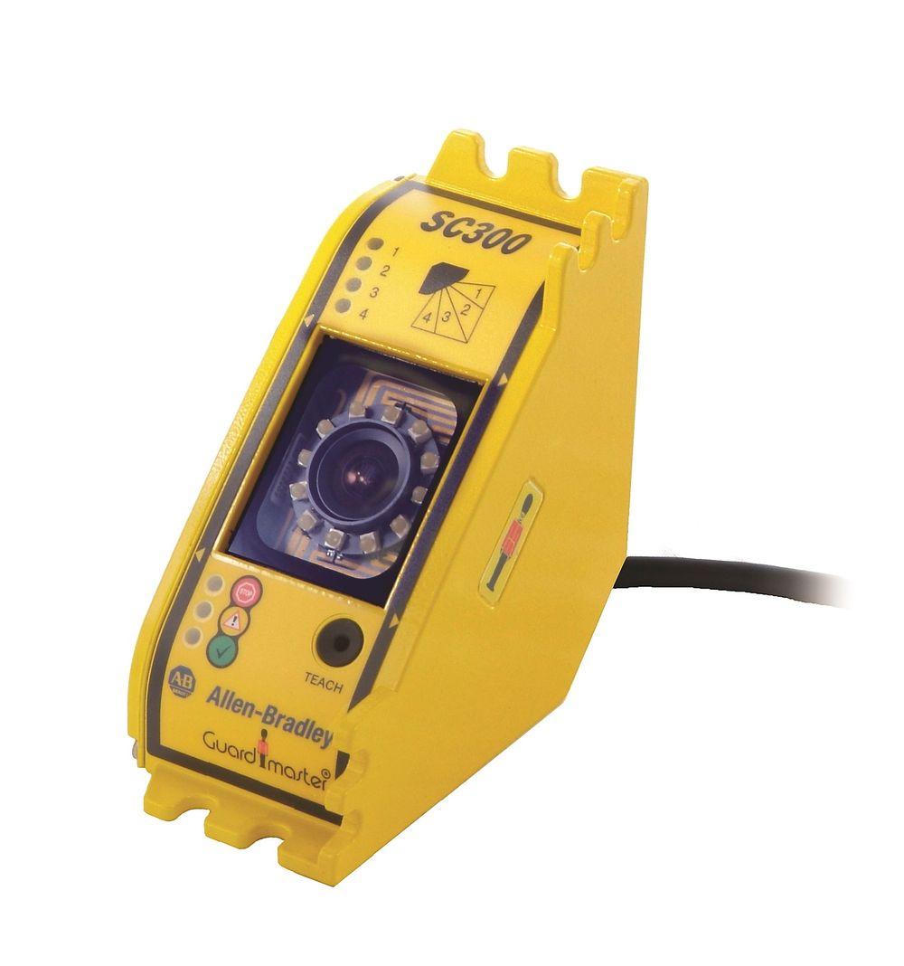 Hånddetektor for maskinsikkerhet som kan erstatte konvensjonelle lysgittere og skannere.