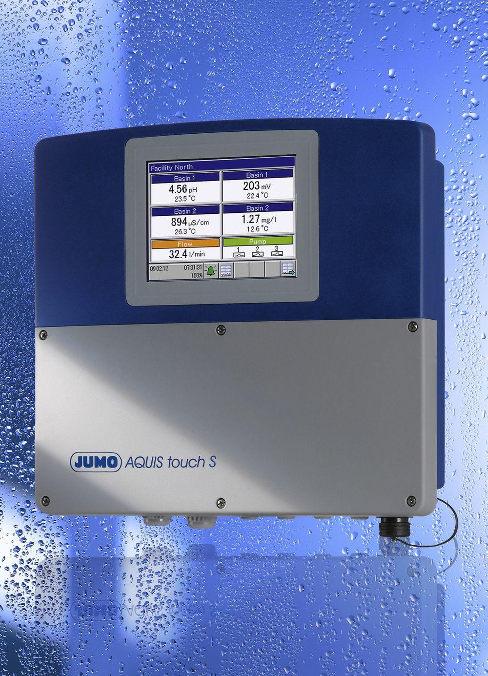 Instrument som blant annet håndterer væskeanalyse, signalbearbeiding og regulering.