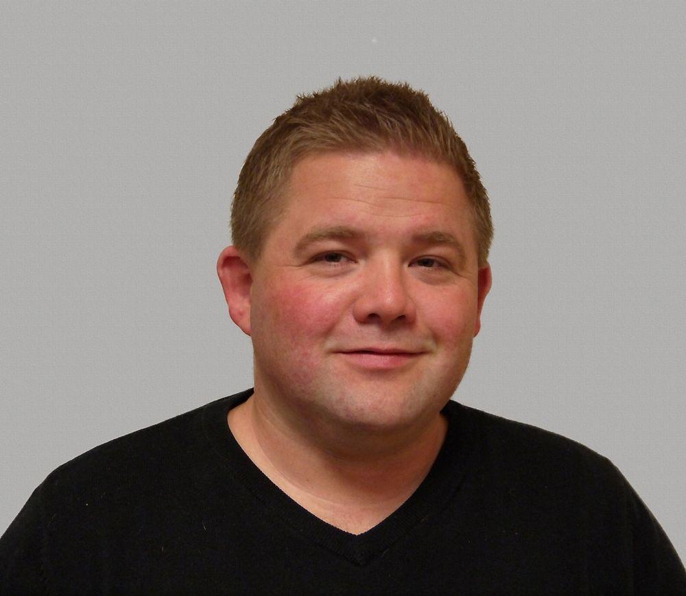 Stian Heidenreic-Riis er ny hos Carlo Gavazzi, han jobber med bolig- og byggautomatisering i det sentrale østlandsområdet.