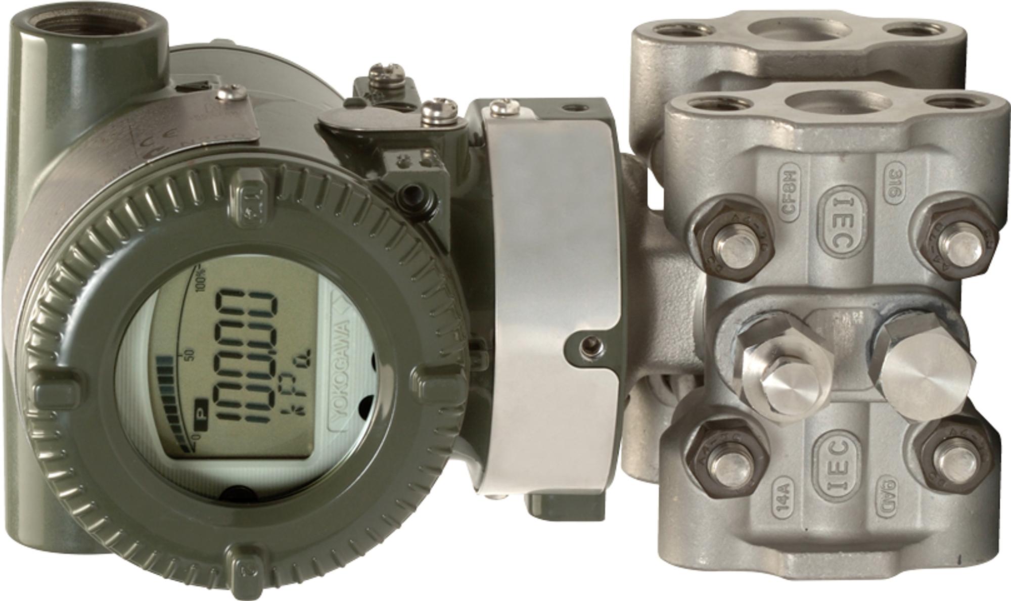 Trykk- og DP-transmitter med måleteknologi som ikke skal påvirkes av endringer i statisk trykk eller temperatur.
