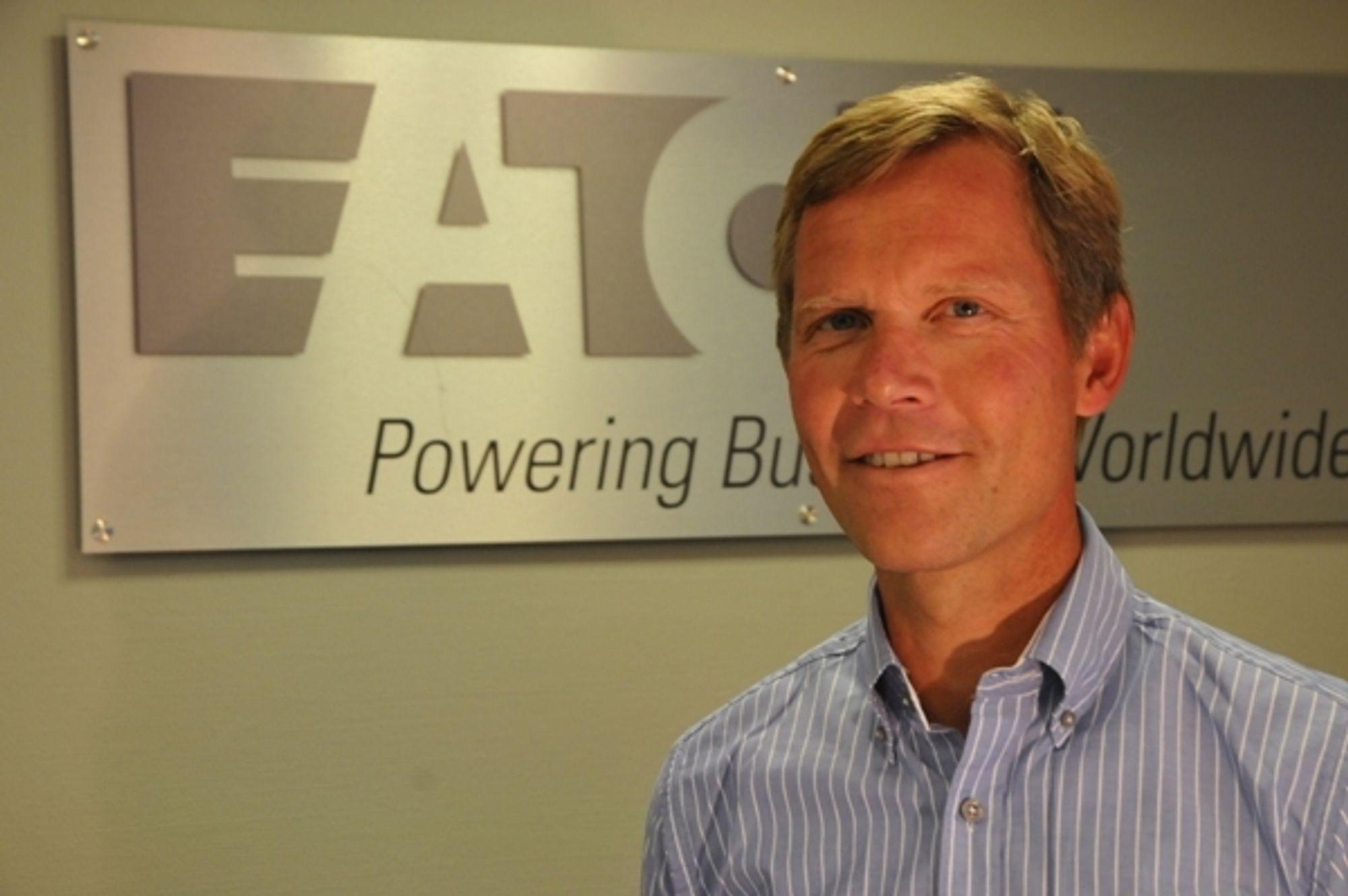 Jon Helsingeng skal lede Eaton Electric til en fordoblet omsetning på fem år.