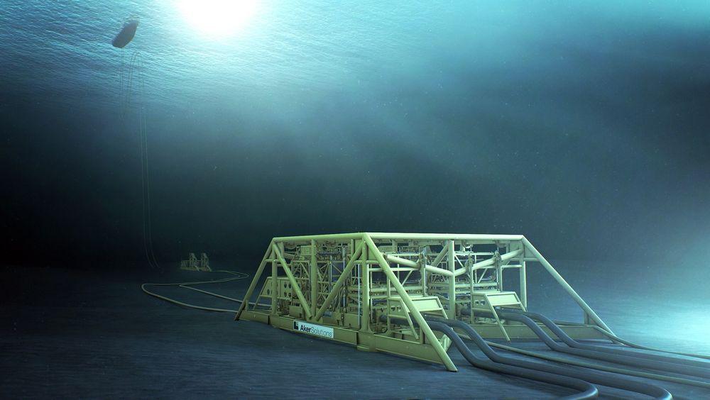 Aker Solutions jobber nå med Åsgard Subsea Compression Project for Statoil. Frekvensomformere styrer kompressorer og pumper med total effekt på ca. 25 MW gjennom 43 km lange undervannskabler. Foto: Aker Solutions