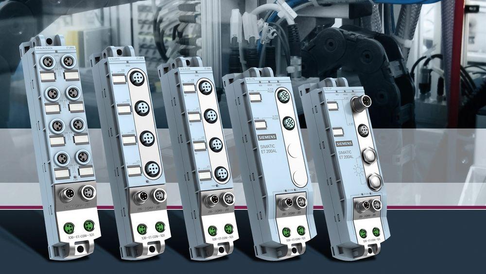 Siemens industriautomatiseringsdivisjon har lagt til den nye Simatic ET200AL produktlinjen til Simatic ET 200 I/O produktfamilien.