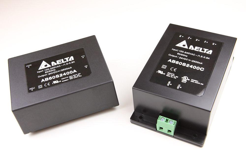Nye AC/DC-moduler fra Delta Electronics