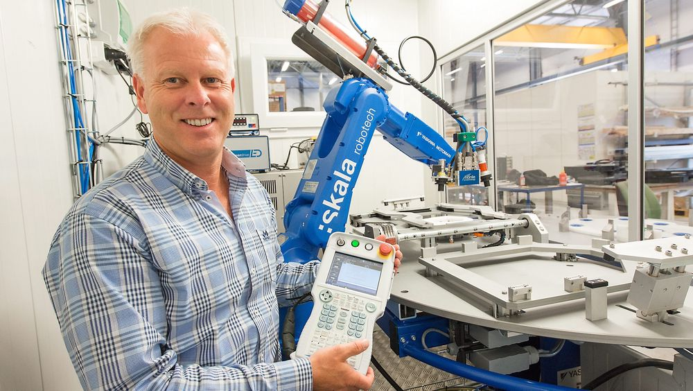 Geir Solberg, daglig leder i Skala Robotech