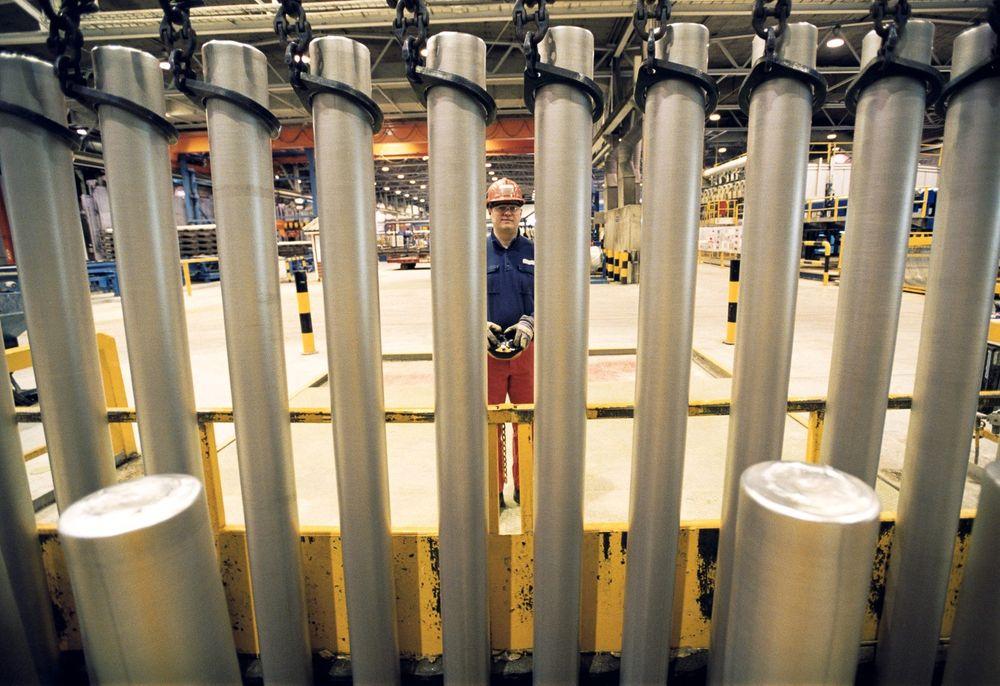 Hydro Karmøy satser på bedre styring av samtlige 288 elektrolyseceller.