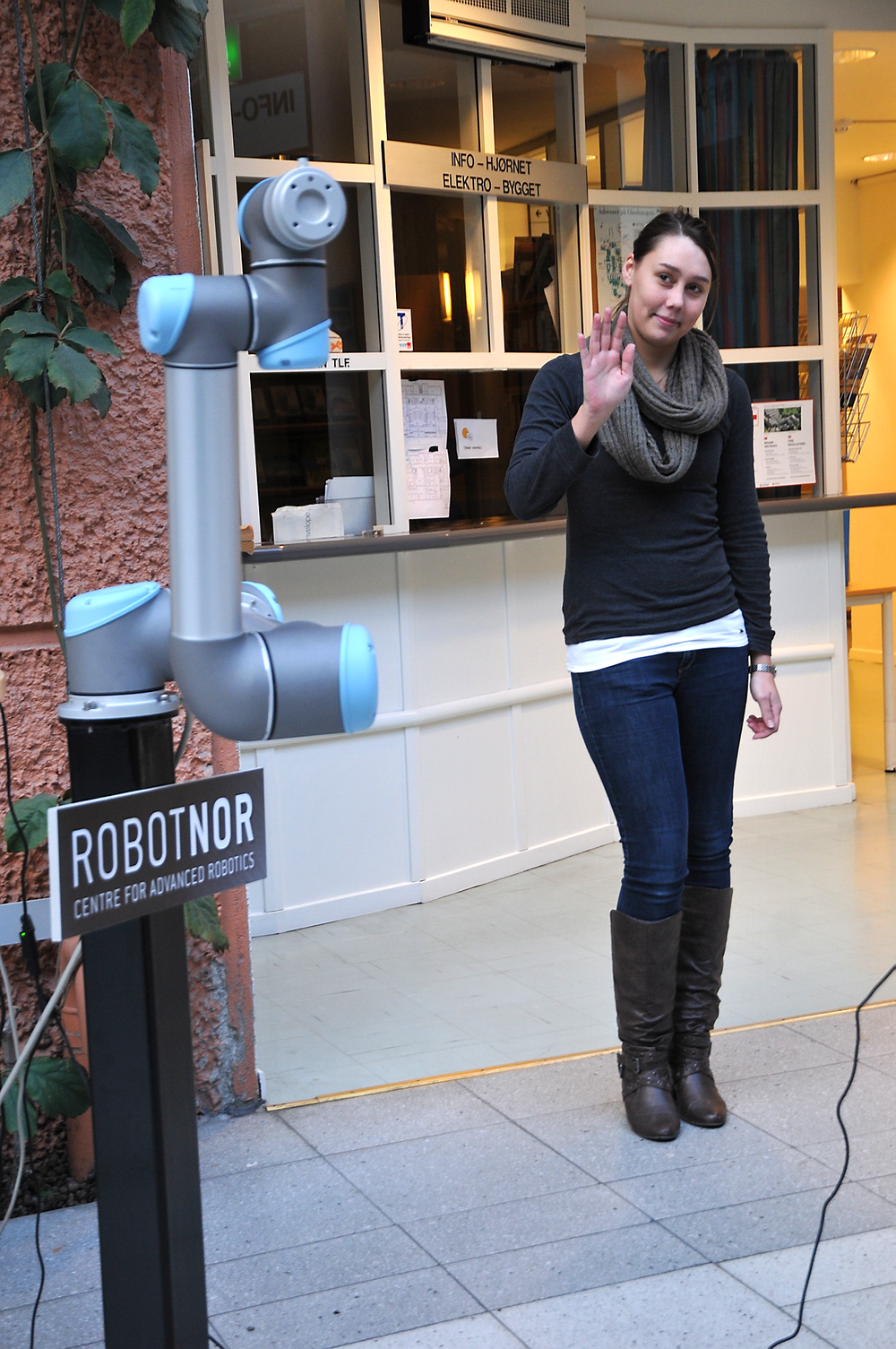 NTNU legger mer vekt på robotisering i masterstudiet for kybernetikk og åpner en studiemulighet for kandidater med bachelorgrad også utenfor automatiseringsfaget (arkivfoto).