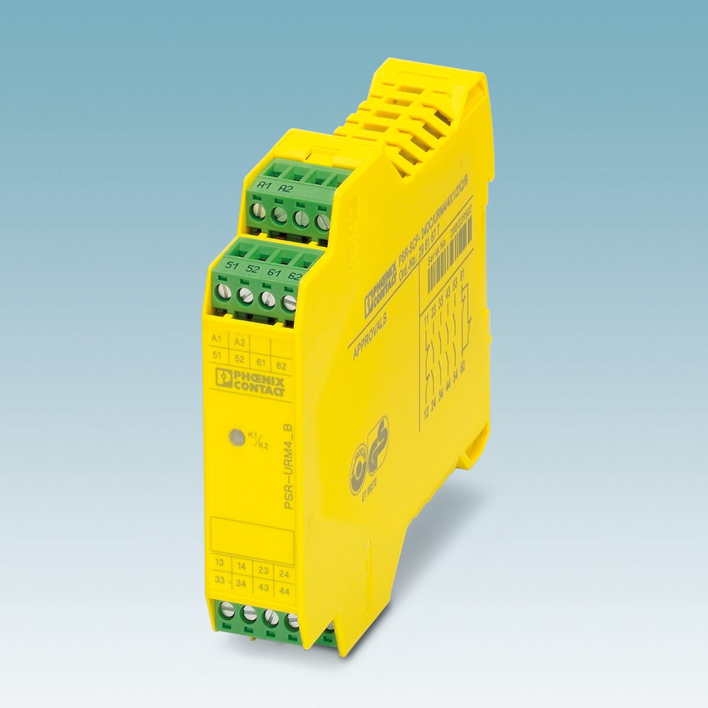 Kontaktutvidelse for sikkerhetssignaler, inntil PLe eller SIL3.