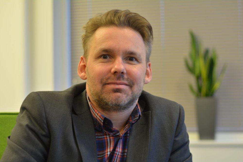 Direktør Stefan Ivarsson ved Omron i Norge vil øke bemanningen i Stavanger med 150 prosent.