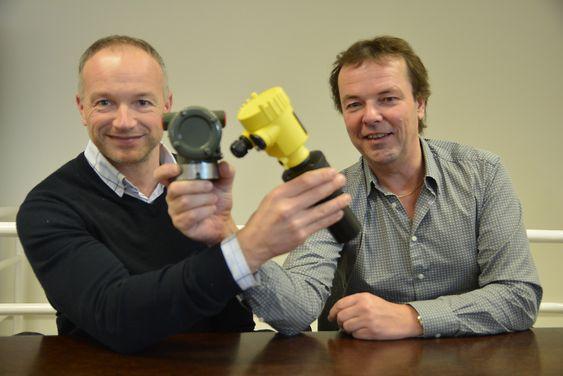 Instrumenter fra Vega og Yokogawa kan nå leveres fra ett sted, forteller salgssjef Rune Stenkjær (t.v.) og Pål Kvam hos Hypteck.