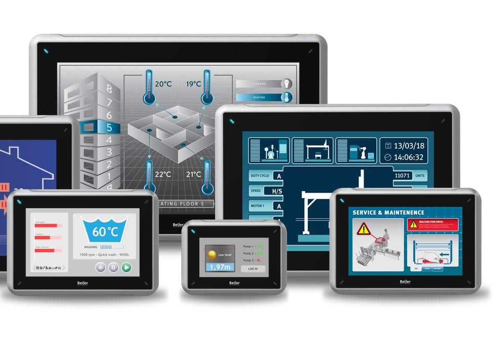 Software for Beijers operatørpaneler har fått redusert brukerterskel og økt funksjonalitet.