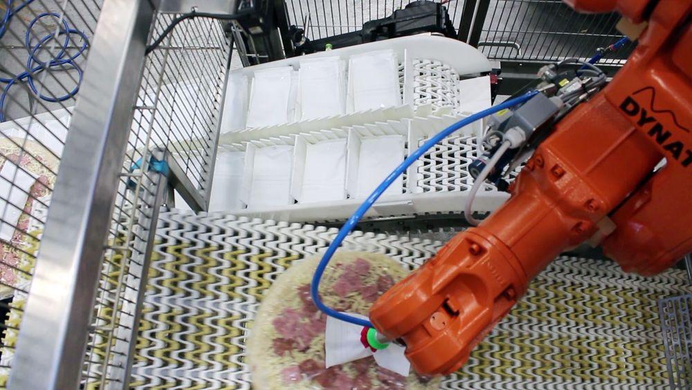 Introduksjon av transportbånd fungerer som buffer og gir kontinuerlig drift ved bytte av film på pakkemaskinen og påfylling av rømme.