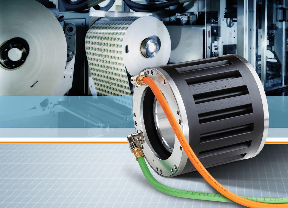 Høymomentmotorer for innbygging med naturlig kjøling som skal være ekstra solide.