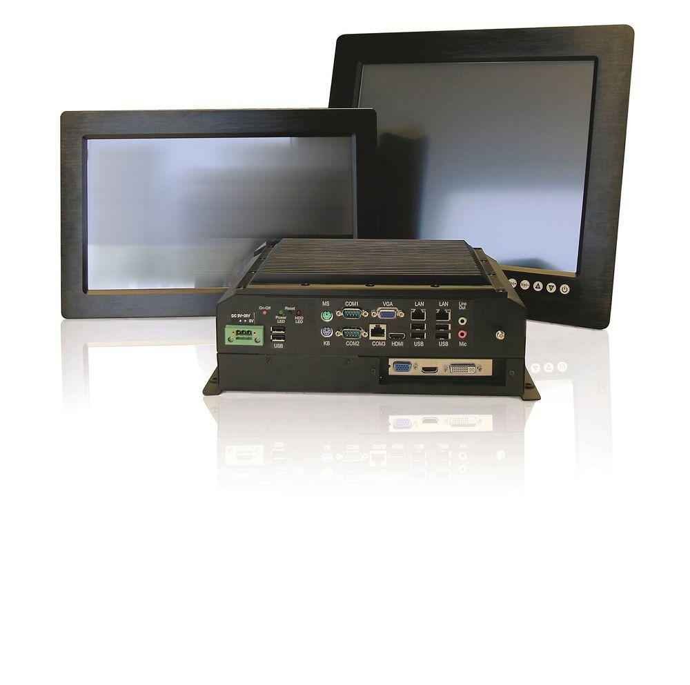 Marinegodkjente pc-er, panel-pc-er og monitorer med skjermstørrelser fra 8,4 til 24 tommer.