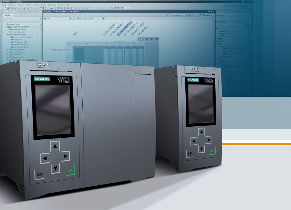Siemens slipper sin hittil kraftigste PLS i S7 1500-serien, med 13 MB brukerminne og såkalt bit-ytelse krympet til 1 nanosekund.