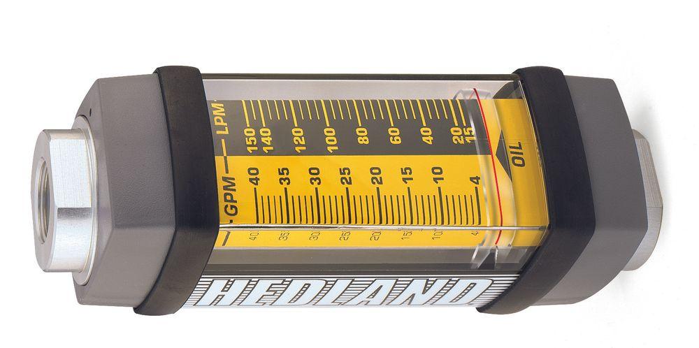 Rotametre for en rekke medier, materialer og mulighet for skreddersydd skalering.