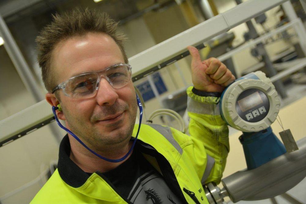 Tommel opp for Ethernet i felt: Øyvind Frebrich synes det er merkelig at så få satser på industrielt Ethernet helt til feltutstyret i Norge.