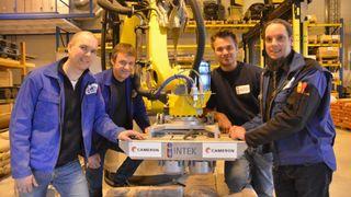 Har laget verdens første autonome depalleteringssystem
