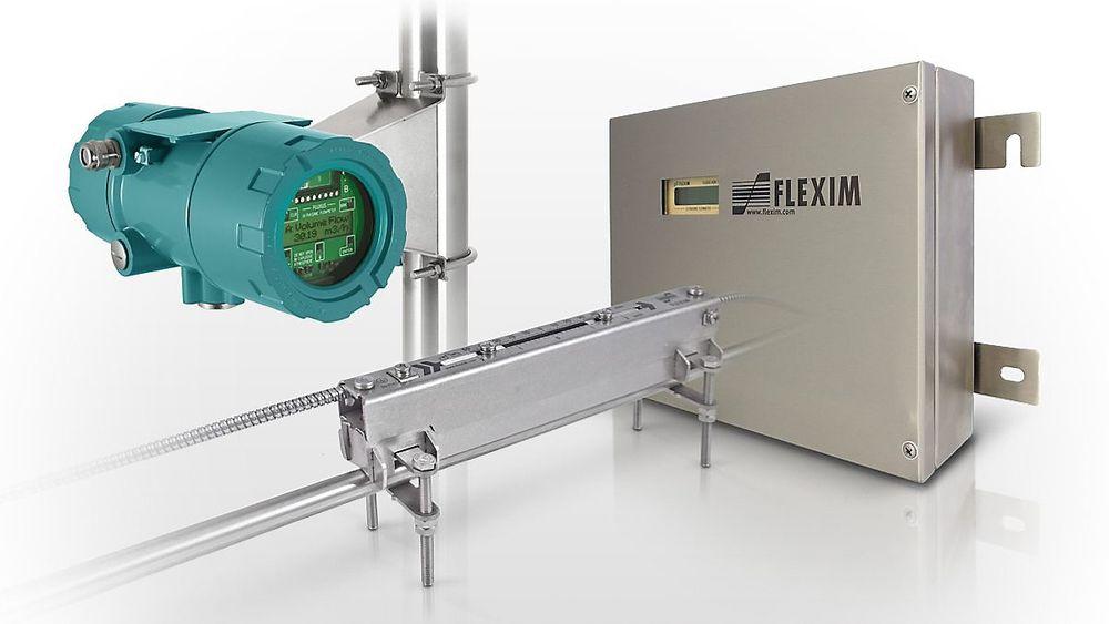 Fluxus XLF for målinng av lave rater ned til 3.5l/h