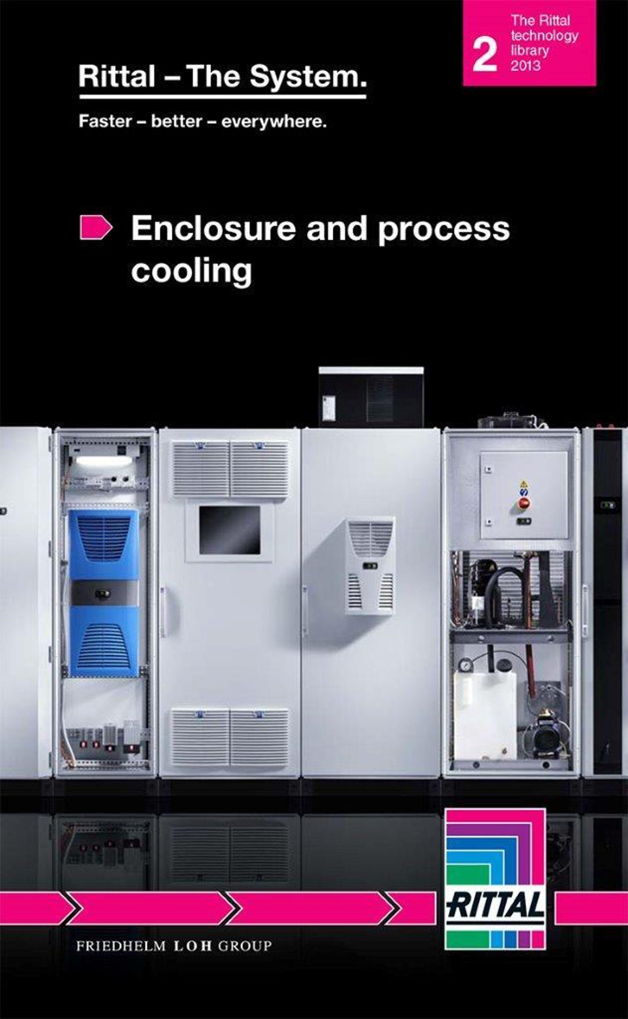 Rittals håndbok om industriell kjøletekninn er på nesten 100 sider.