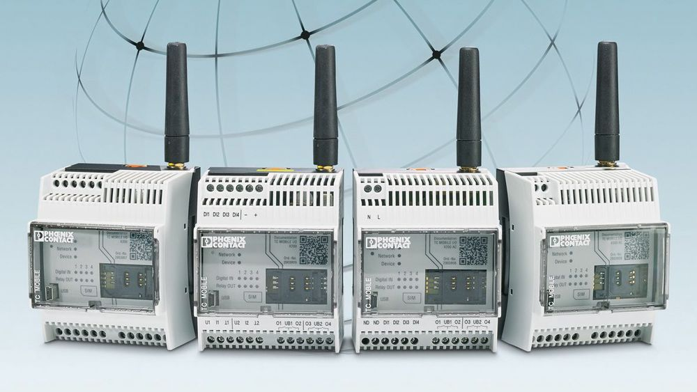 Phoenix Contact sensorovervåking via mobilnettet
