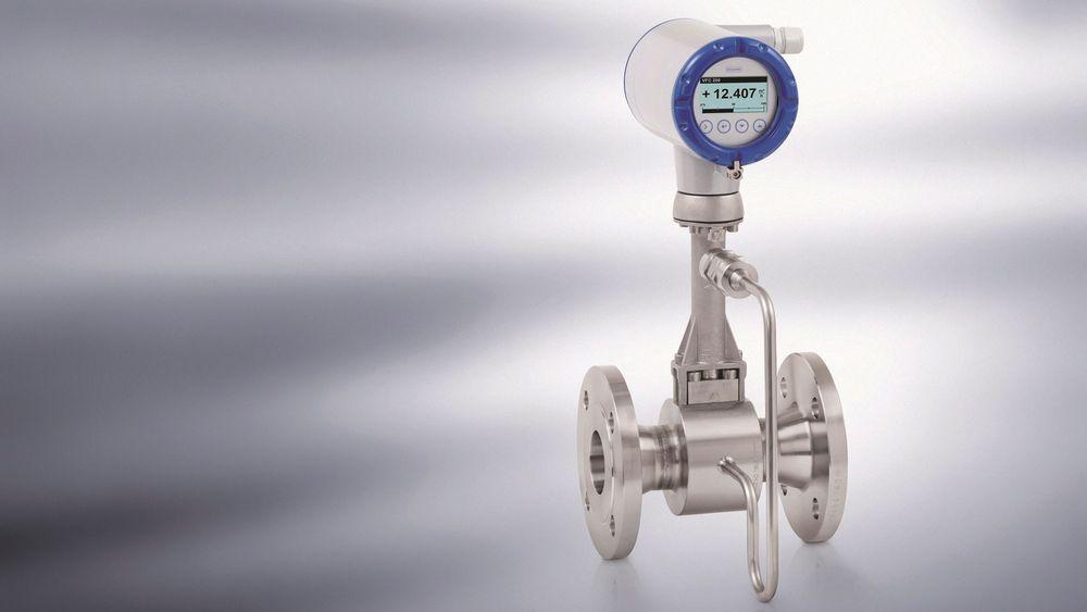 Ny OPTISWIRL 4200 vortex mengdemålere for intern overvåking av energi for mettet og overopphetet damp eller varmt vann