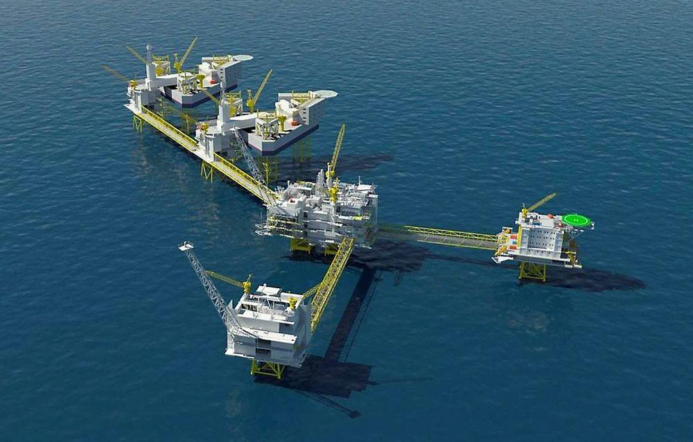 Johan Sverdrup-feltet inneholder enorme mengder olje. Fortsatt forsøker partnerne å finne ut hvor mye som tilhører hvem.