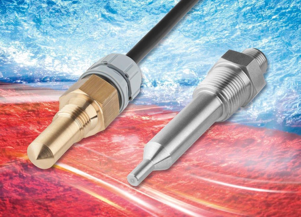 Kjekk kombo: Bimetalltermostat med integrert PT100-temperaturmåler.