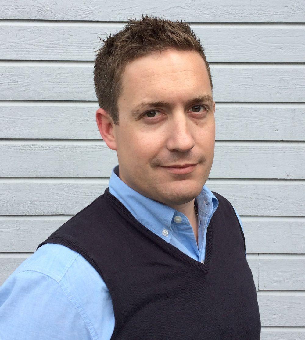 Alexander Middleton er salgssjef ved Mateks nye avdelingskontor i Stavanger.