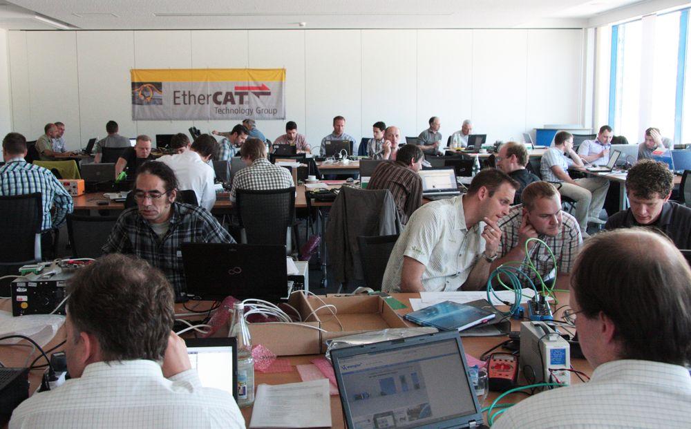 Det er miniseminar om EtherCAT under Eliaden 2014.