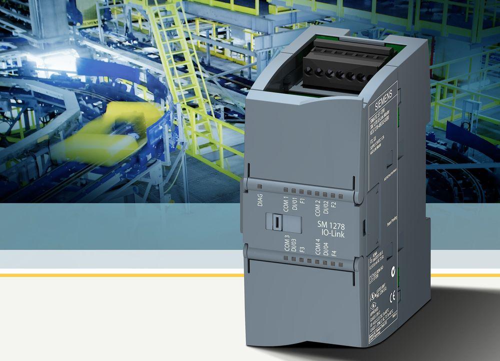 IO-Link-Master for Siemens S7-1200 PLS.