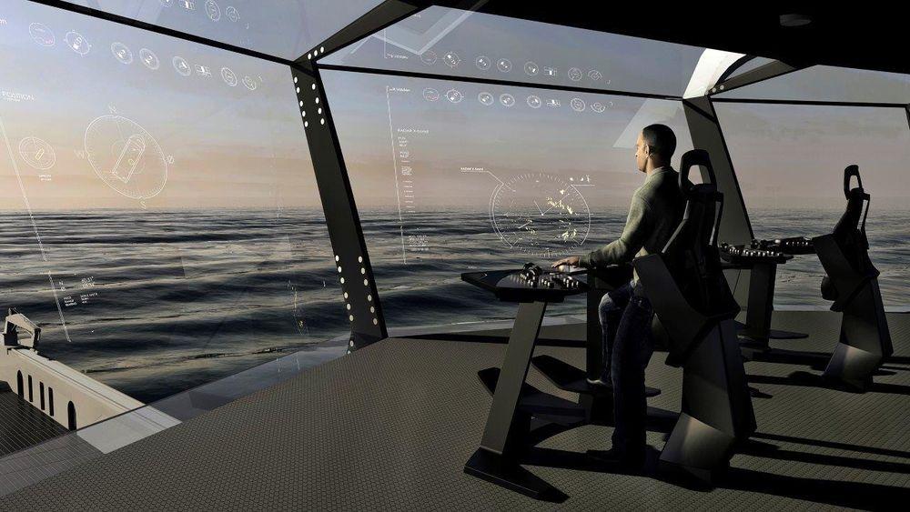 Norge ligger i front på avanserte skipsløsninger, her illustrert ved Ulsteins Bridge View.