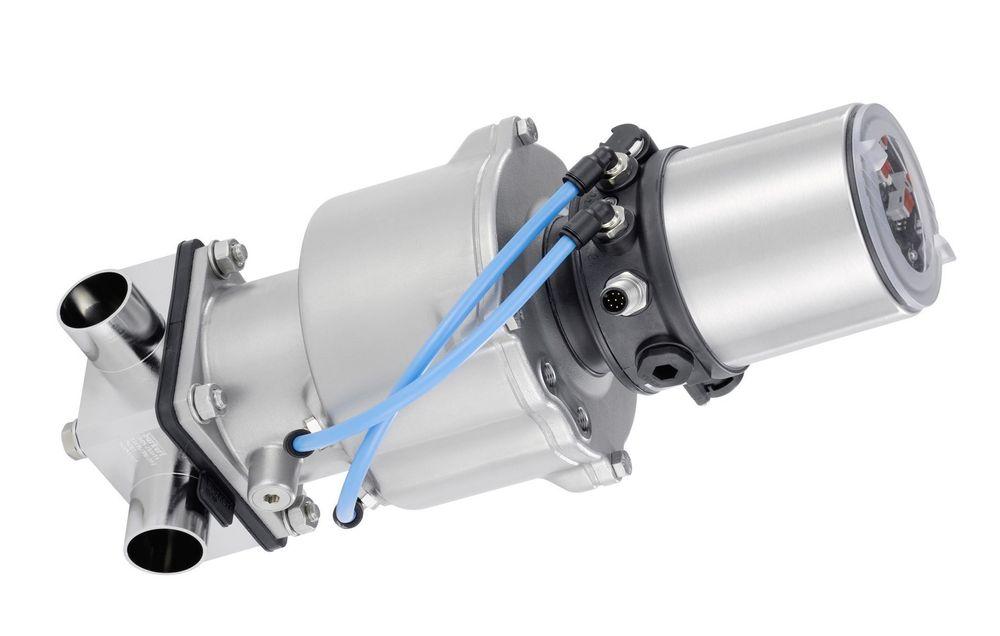 Som en del av et nytt aktuator-konsept, kan nå Robolux ventiler kombineres med Bürkerts ELEMENT kontrollhoder