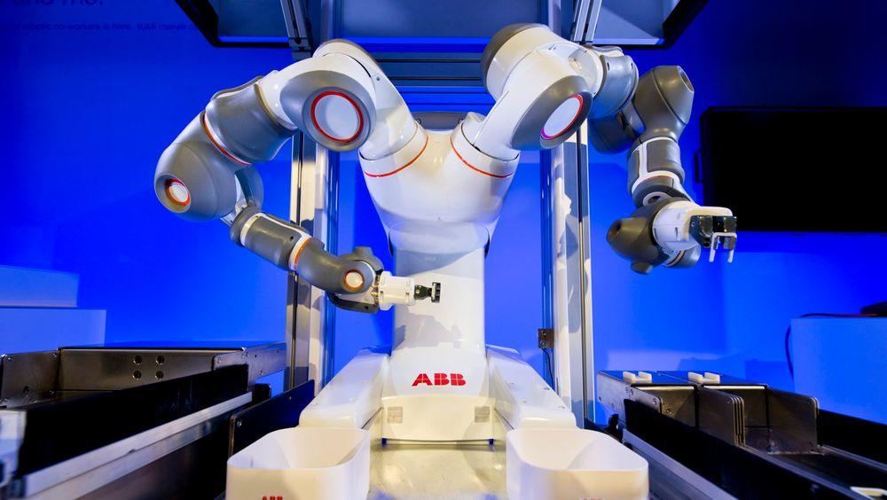 YuMi, toarmet robot fra ABB