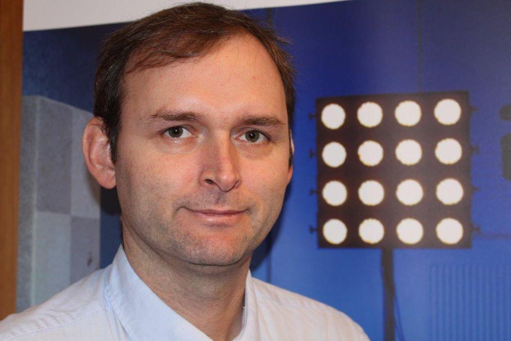 Morten Paulsrud arbeider med salg og kundestøtte hos Sick.