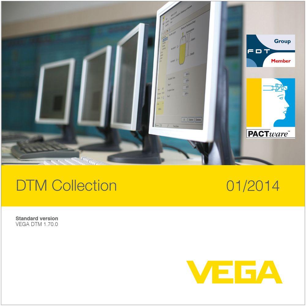 Vega slipper vårkolleksjonen med DTM-drivere, og inkluderer konfigurasjonsverktøyet PACTware som nå er i henhold til NAMUR NE 107.