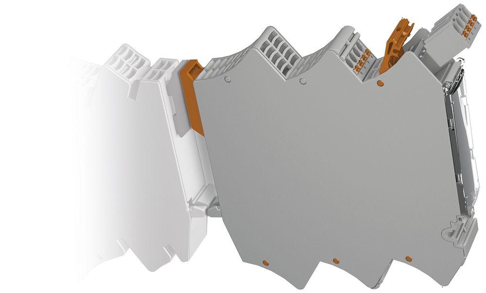 Tomme, modulære kapslinger for DIN-skinner kan være kjekt for egne kretskortløsninger.